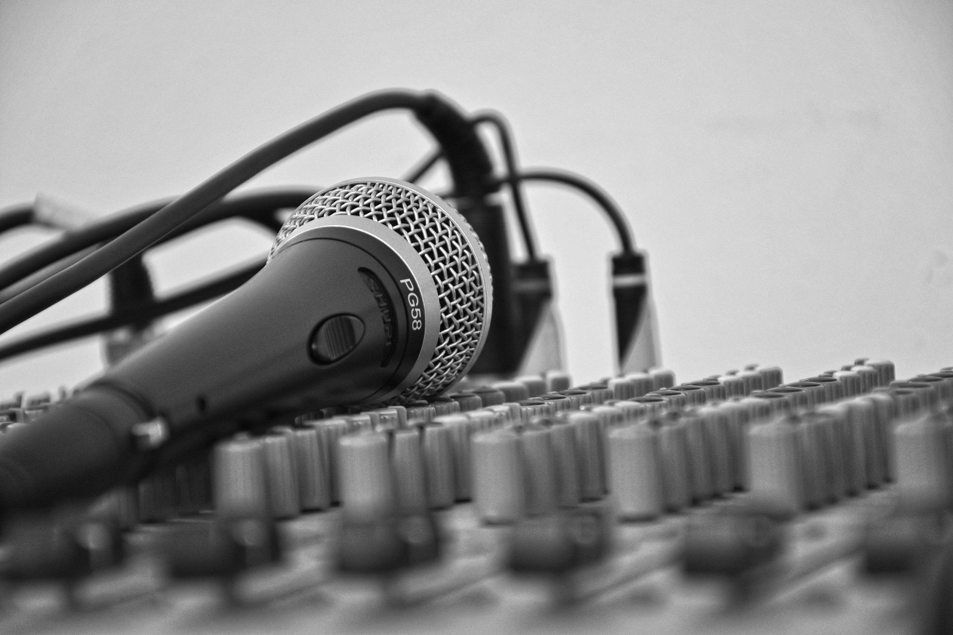 kabels microfoon